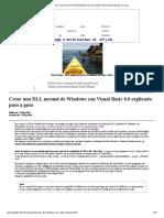 Crear una DLL normal de Windows con Visual Basic 6.0 explicado paso a paso.pdf