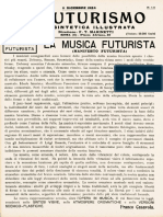 La musica futurista