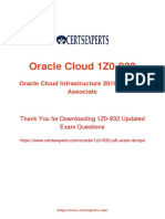 Oracle-1z0-932 Testking pass 82% acuraccy