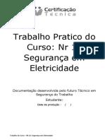 Trabalho Pratico do Curso Nr 10 Segurança em Eletricidade (Certificação Técnica)