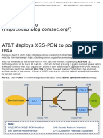 AT&T deploys XGS-PON to power FTTH nets - Technology Blog