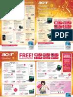 Acer Special Singapore Promotions - Bizgram Asia Pte Ltd - Released on (10 Jan 2011)