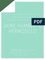 LOS GUIONES DE JAIME HUMBERTO HERMOSILLO