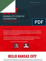 Kansas City Startup Foundation - 2017 Impact Report.pdf