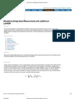 Wheatstone Bridge Based Measurements with myDAQ and LabVIEW - Developer Zone - National Instruments
