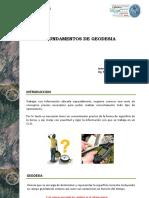 FUNDAMENTOS DE GEODESIA