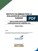 Documentacion - Instalacion Forticlient