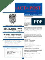 =ACT= November 2005 Newsletter