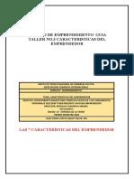 junio 11 2020 Las 7 Características del Emprendedor