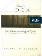 Michael Forster, Hegel's Idea of a Phenomenology of Spirit.pdf