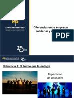 Diferencias entre empresas solidarias y mercantiles