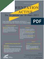 Affiche Orientation Active 2011