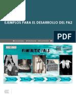 Ejemplos para el desarrollo del PA2