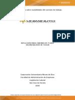 Análisis de caso sobre modalidades del contrato de trabajo..doc