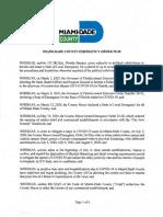 Miami-Dade Coronavirus Emergency Order 28 20