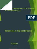 Elementos constituyentes de la Identidad de Universidad ECCI