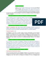 Texto 9 preguntas sobre la pedagogía y la didáctica