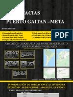 Puerto Gaitán – Meta CALIDAD AMBIENTAL