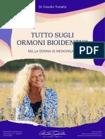 eBook Ormoni Bioidentici Dott Claudio Tomella