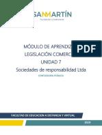 UNIDAD 7 sociedades de responsabilidad LTDA.pdf
