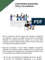 5.5 POBLACIÓN INFINITA SERVIDORES MULTIPLES, COLA INFINITA.pptx
