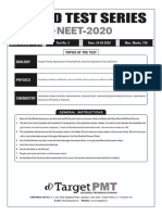 NEET test series 1