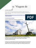 Crônica_Viagem de Sabará_de Carlos Drummond de Andrade