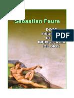 Sebastien Faure - Doce pruebas de la inexistencia de dios.pdf