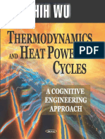 Thermodynamics And Heat Powered Cycles - Chih Wu - 1 Ed (Libro ingles)
