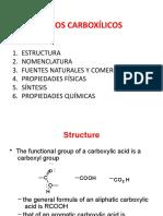 Ácidos carboxilicos presentación