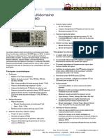 Notice -Tektronix MDO3000.FR