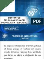 Contratos Relacionados Con Propiedad Intelectual