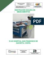 ADMINISTRACION SEGURA DE MEDICAMENTOS