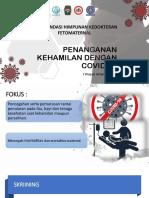 Dr. i Wayan Artana Putra, Spog (k) - Covid-19 Pd Kehamilan