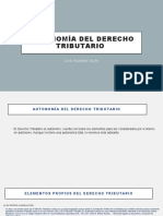 Autonomía del derecho tributario (3)
