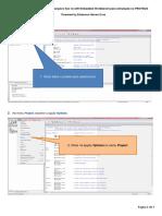 Procedimento para geração do arquivo hex ou d90 no IAR Embedded Workbench