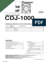 Pioneer Cdj1000 Rrv2468