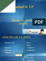 Diseño de clase y uso de objetos