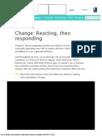 Adapting to Change- Change Reacting, Then Responding.pdf