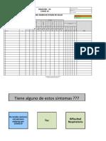 COVID-19 Control Diario Estado de Salud