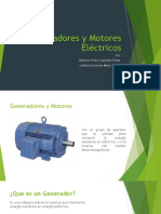generadores y motores