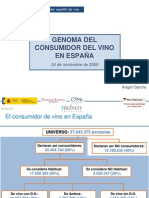 GenomaConsumidorVinoEspana