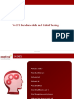 VoLTE initial tuning