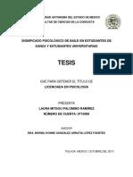 TESIS SIGNIFICADO PSICOLÓGICO DE BAILE