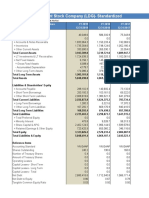 LDG - Financial template