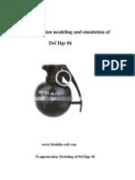 Fragmentation Modeling of Def Hgr 86