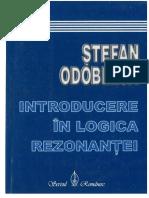 Odobleja, Introducere  in Logica Rezonantei