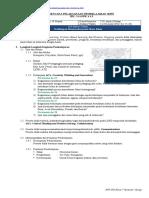 RPP IPS VII-2 Pertemuan XXV-XXVIII; Kehidupan Masyarakat pada Masa Islam