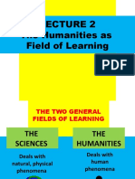 Lecture 2. Humanities as Field of Learning.pptx