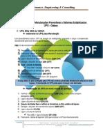 Procedimentos em Manutenções Preventivas a Sistemas Estabilizados UPS